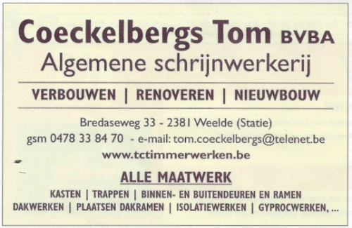 Tom Coeckelbergs